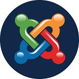 Le logo du CMS Joomla